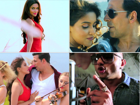 Khiladi 786 Hindi Film Video Song Powermall